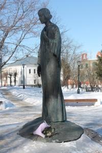 Памятник М. Цветаевой