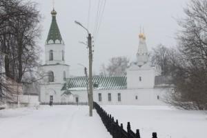 У Рязанского кремля. 23 марта 2013 г.