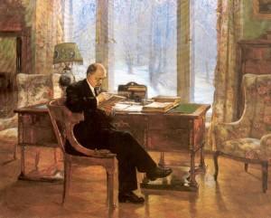 Налбандян Дмитрий Аркадьевич : Ленин в Горках.