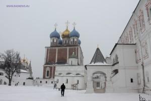 В Рязанском кремле. 23 марта 2013 г.