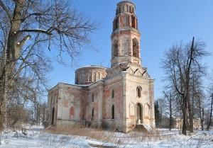 Тарусский район. Барятино. Церковь Успения Пресвятой Богородицы