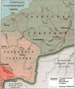 История уральской земли