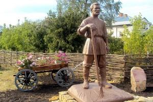 Памятник крестьянину в Тербунах , Липецкая обл., Россия