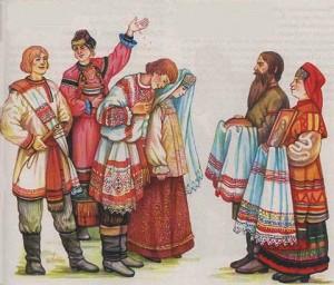 Свадьба в Тверской губернии