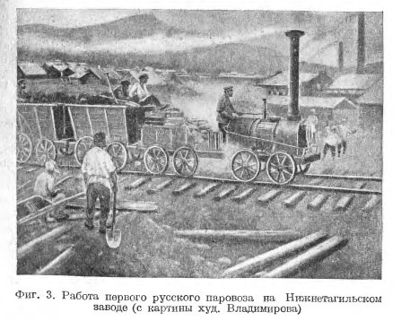 Первые паровозы