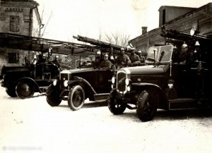 Развитие материально-технической базы пожаротушения на Урале в ХХ веке