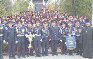 Армейские будни казачьих кадет