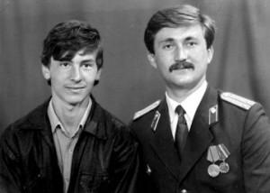 Виталий с младшим братом Андреем