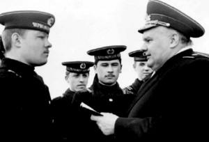 Награда старшине Новикову