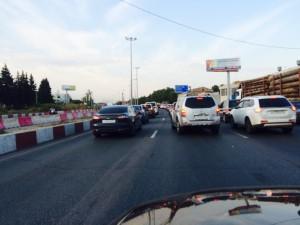 Ярославское шоссе. Пятница, 7 августа 2015 г.